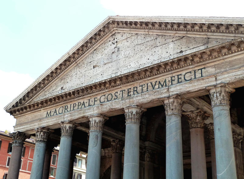 Download Old temple stock photo. Image of site, archaeology, pantheon - 19849188