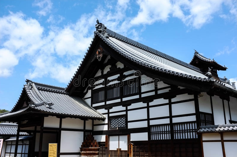 Download Old Temple in Kyoto stock image. Image of ginkakuji, nostalgia - 35271833