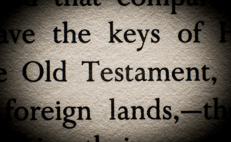 Old Testament royalty free stock photos