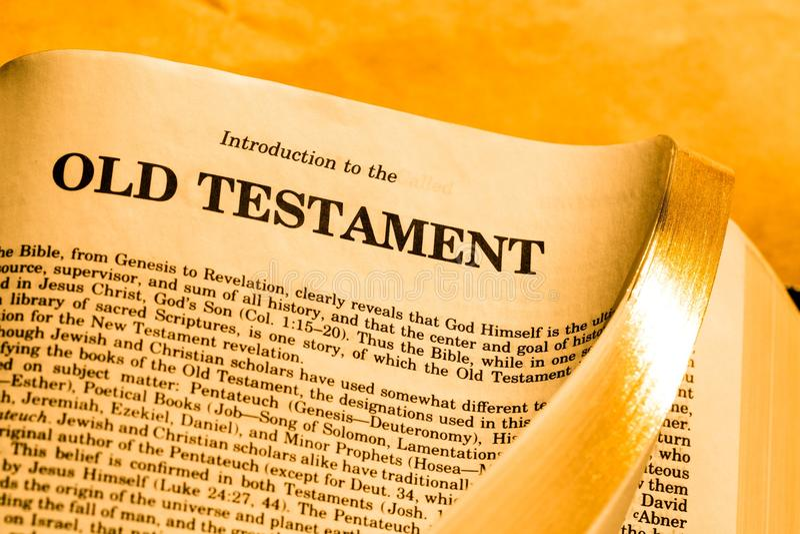 Old testament stock photos