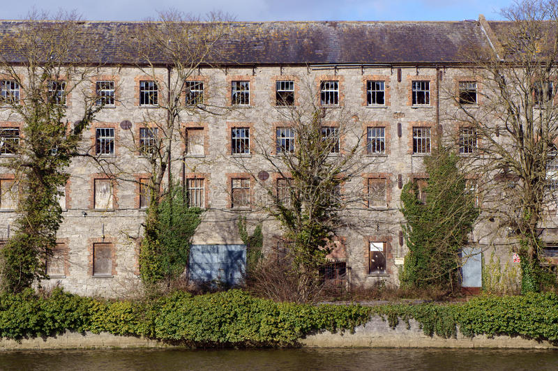 Old Textile Mill royalty free stock photo