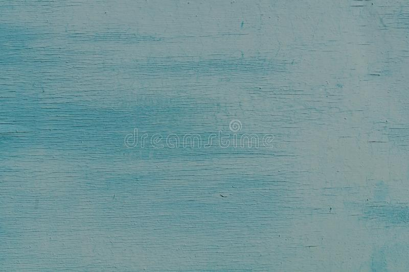 Old texture blue cracked wall, the old paint texture is chipping and cracked fall destruction. Grunge wall texture for design. stock image