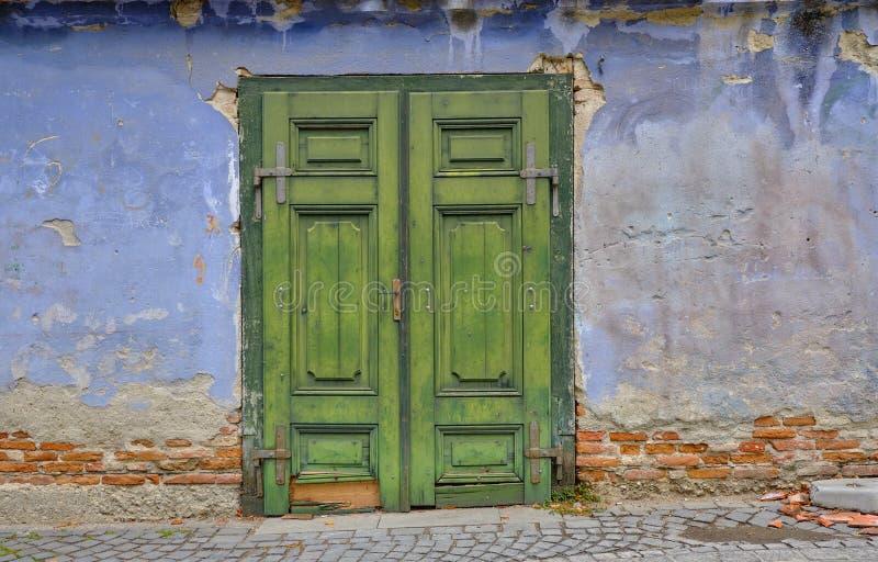 Old textured door stock photos