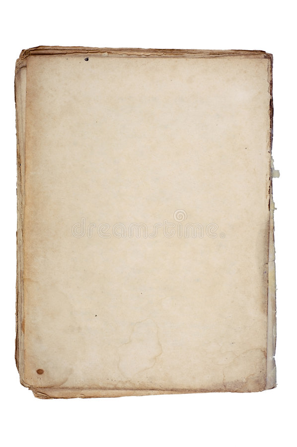 Free Old Textured Paper With Decrepit Edge. Stock Photos - 4769763