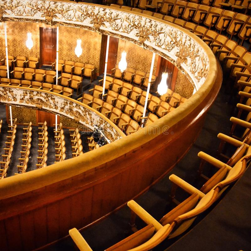 Old theatre royalty free stock photo