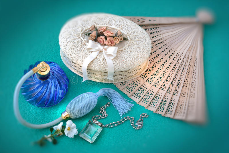 Download Old Things Of A Female World Stock Photo - Image of necklet, look: 13957108