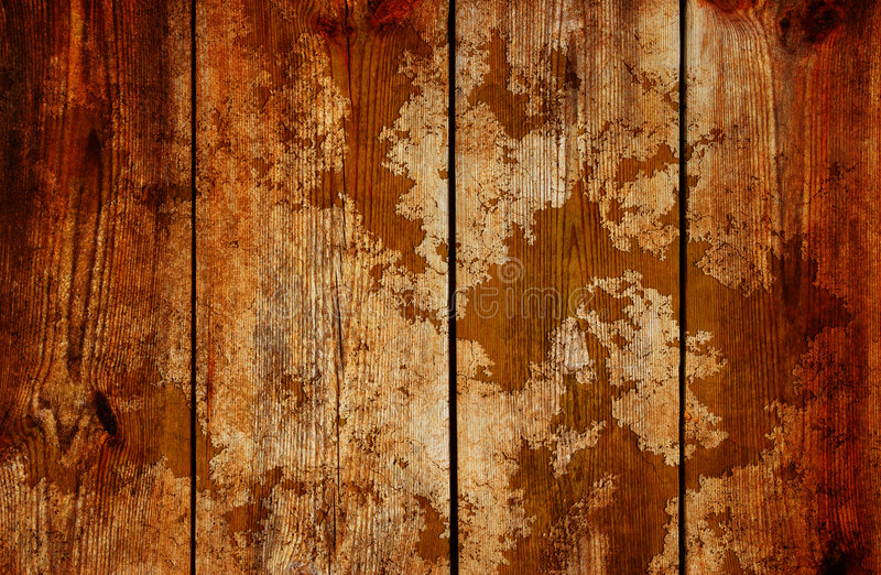 Old timber. Detailed old wooden wall with copyspace great texture stock illustration