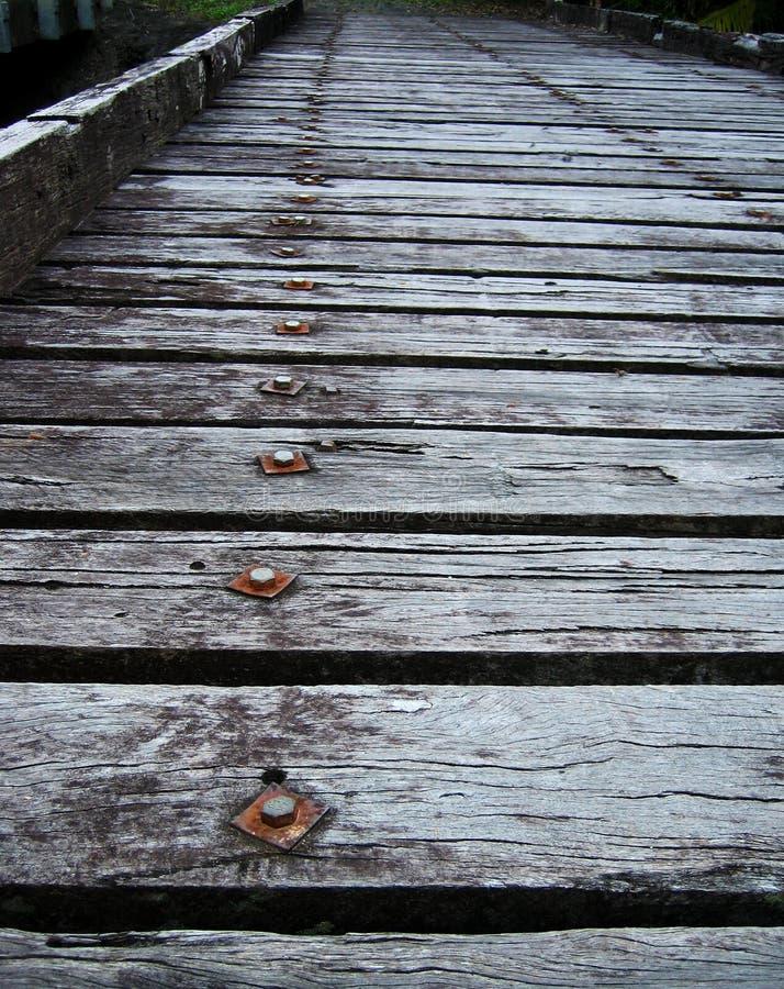Old Timber Bridge royalty free stock image
