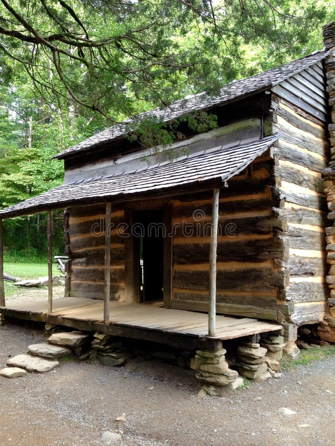 Old time cabin royalty free stock image