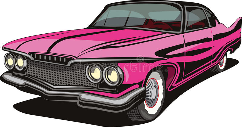 Old time car royalty free illustration
