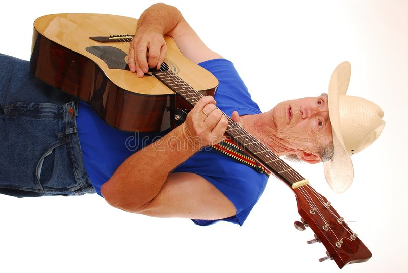 Old Time Country Musician 19 stock image