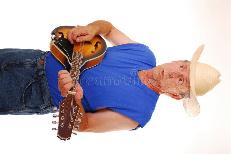 Old Time Country Musician Four stock photo