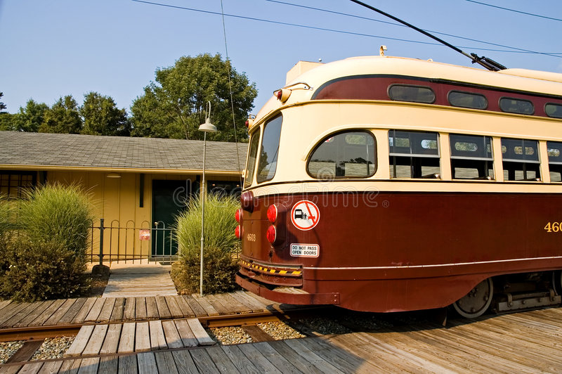 Download Old Time Street Trolley Stock Image - Image: 1212671