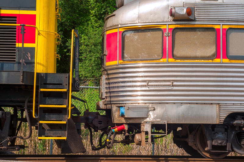 Old-time Train Car Stock Photo