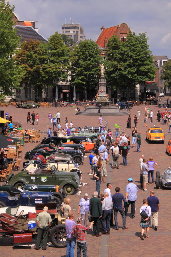 Free Old Timer Car Show Deventer Royalty Free Stock Image - 20058706