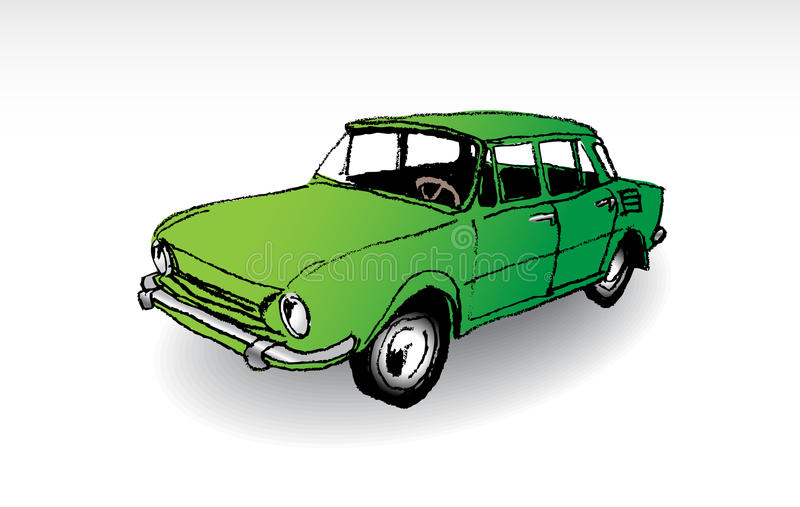 Old-timer vector illustration