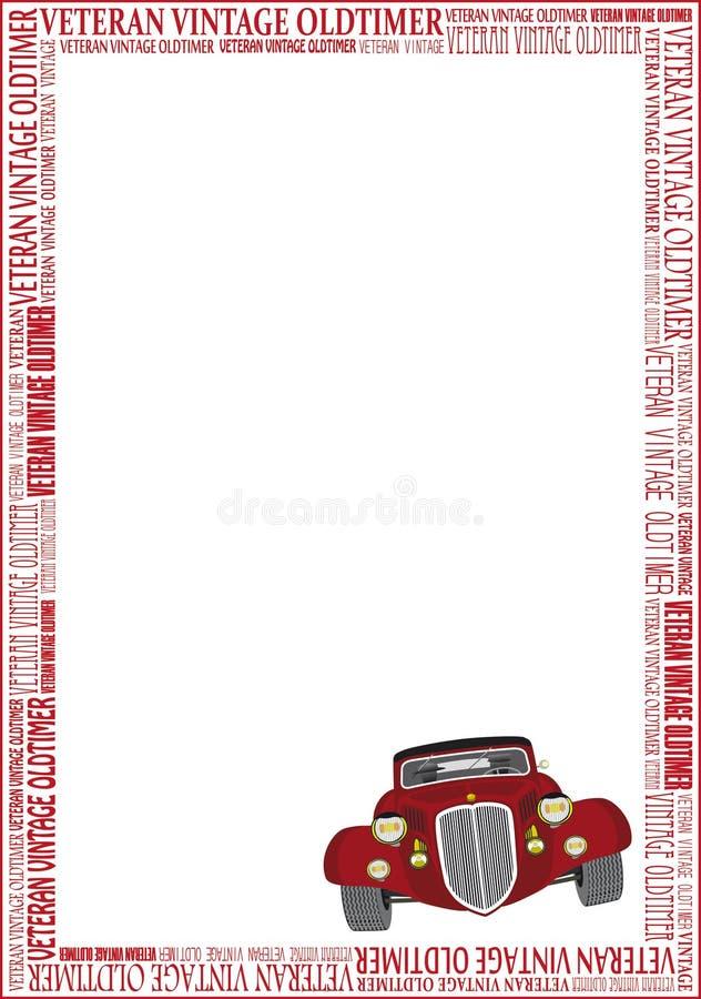 Download Old timer frame stock illustration. Image of letter, styling - 10499564