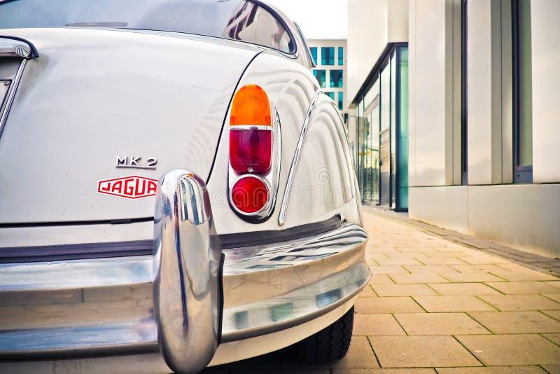 Old timer Jaguar royalty free stock images