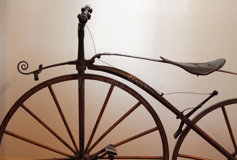 Download Old times bicycle stock image. Image of detail, cute - 46052149