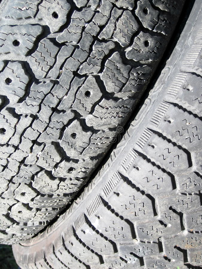 Old Tire Texture Stock Photos