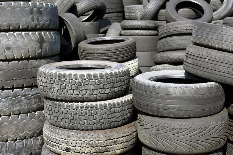 Download Old tires stock image. Image of industrial, dispose, disposal - 16571017