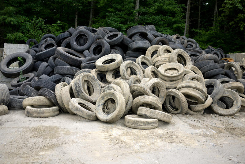 Download Old Tires stock image. Image of truck, dump, recycle - 20631745