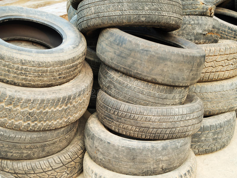 Download Old tires stock image. Image of pollution, wheel, rubber - 22867863