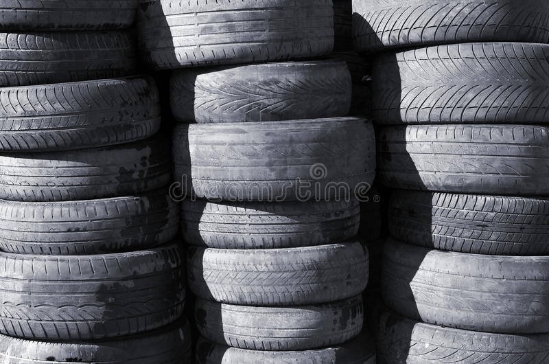Download Old Tires stock image. Image of objects, forest, abstract - 24059009
