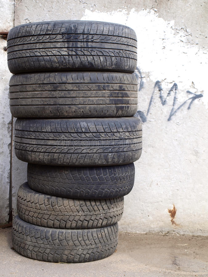 Download Old tires stock image. Image of road, dump, round, pattern - 24847729