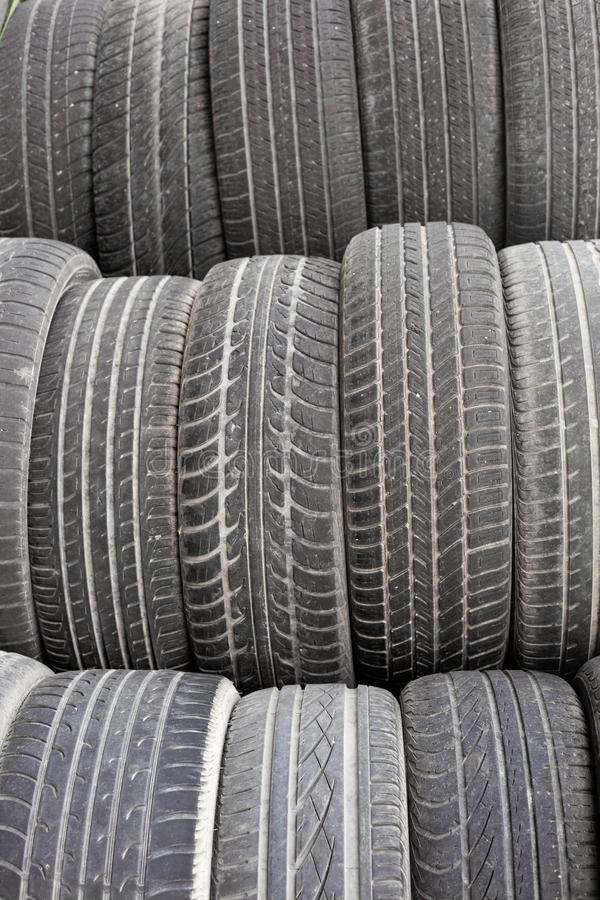 Old tires background texture pattern royalty free stock photo