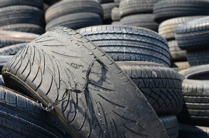 Download Old tires stock photo. Image of mechanic, dangerous, repair - 39724574