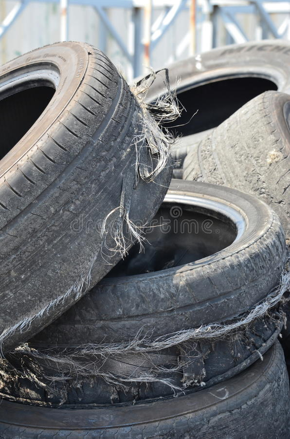 Download Old tires stock photo. Image of stock, recovered, used - 39724584