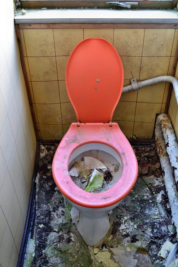 old toilet stock photo image of paper disgusting ceramics 38504812. Black Bedroom Furniture Sets. Home Design Ideas
