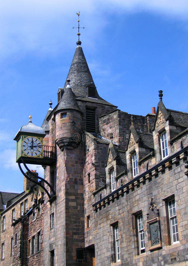 Download Old Tolbooth, Royal Mile, Cannongate, Edinburgh, S Stock Image - Image: 14007631