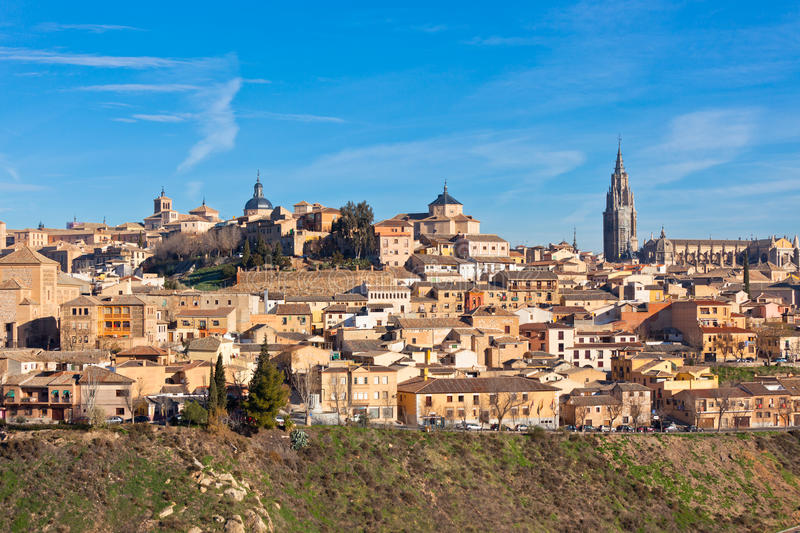 Old Toledo town, Spain royalty free stock photo