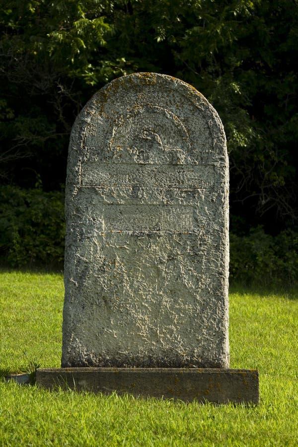 Nameless tombstone stock photo. Image of forsaken