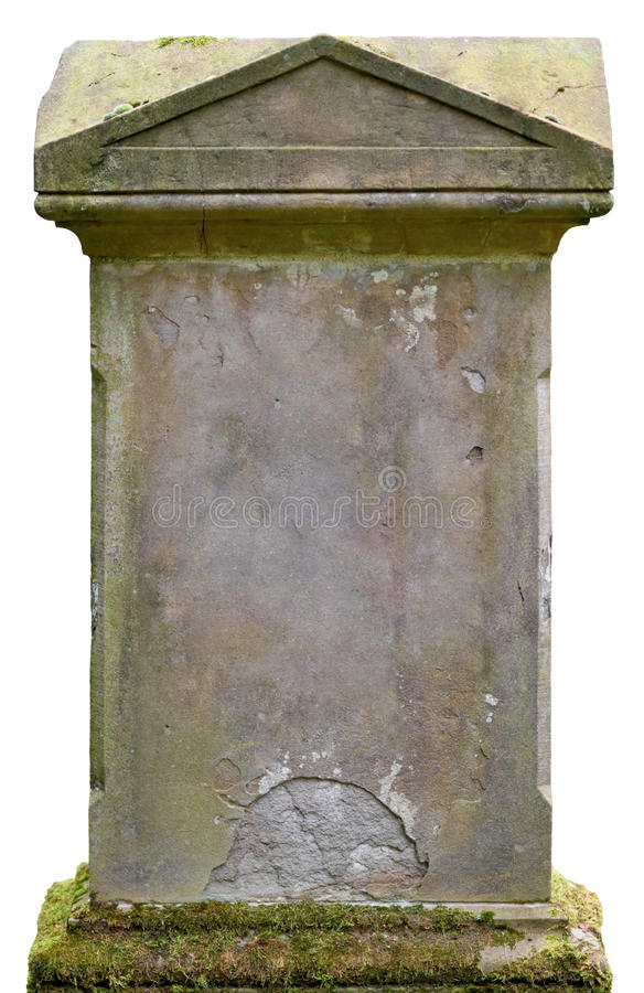 Old tombstone. With copy space stock photos