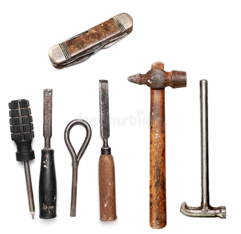 Free Old Tools Royalty Free Stock Image - 7539266