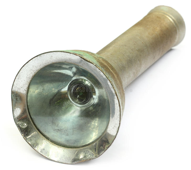 Download Old torch stock image. Image of battery, spotlight, searchlight - 25907649