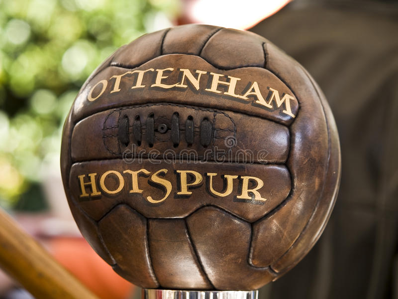 Download Old Tottenham Soccer Bal Editorial Photography - Image: 21764112