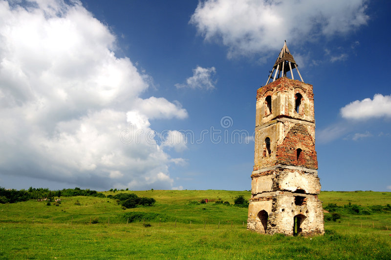 Old tower royalty free stock photo