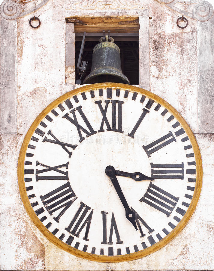 Free Old Tower Clock Royalty Free Stock Photo - 33219165