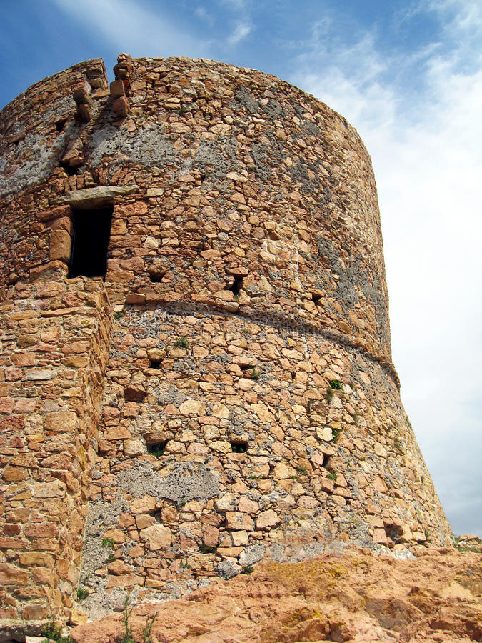 Download Old tower - Corsica stock image. Image of europe, ruin - 10635803