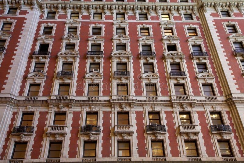Old tower facade