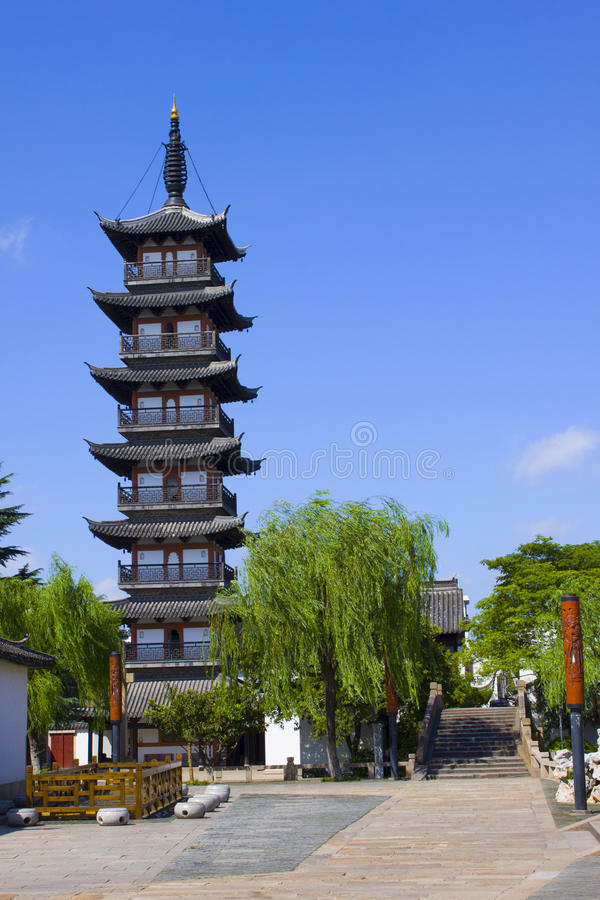 Download Old Tower In Shanghai Stock Photography - Image: 25845712