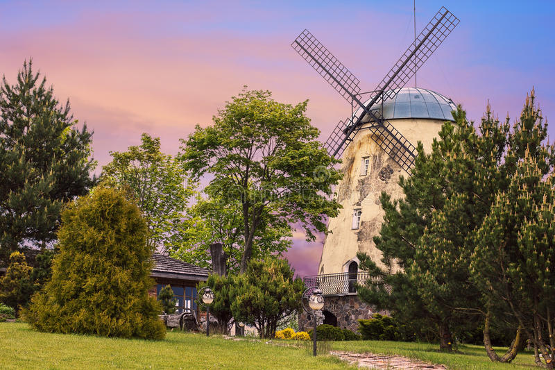 Download Old tower windmill stock photo. Image of traditional - 68532082