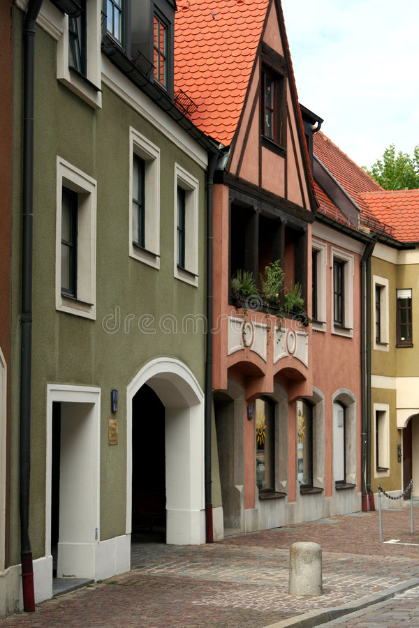 Free Old Town Stock Image - 1254441