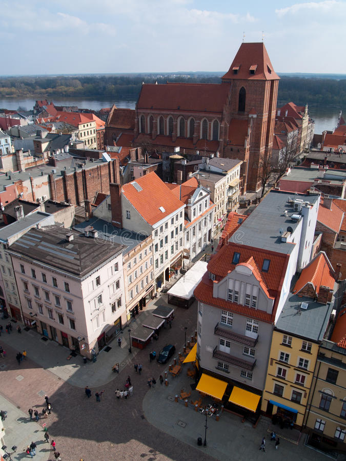 Download Old town from above stock photo. Image of colorful, architecture - 24489192
