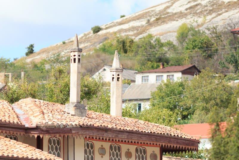 Old town of Bakhchysaray. Crimea. royalty free stock photos