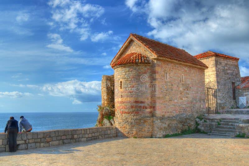 Old Town Budva, Montenegro royalty free stock photos